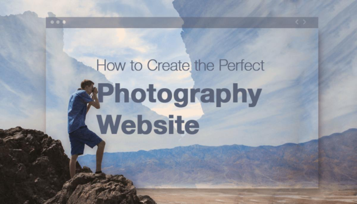 راهنمای گام به گام طراحی سایت عکاسی