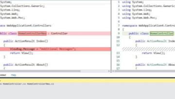 مقایسه فایل ها در ویژوال استدیو با  ابزار DiffFiles Tool