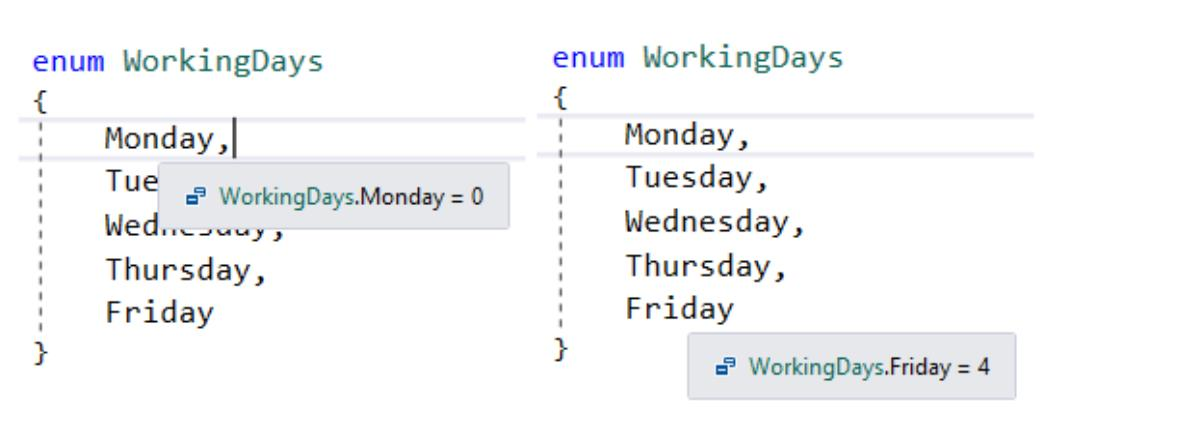 ایجاد حلقه روی آیتم های یک Enum در C#