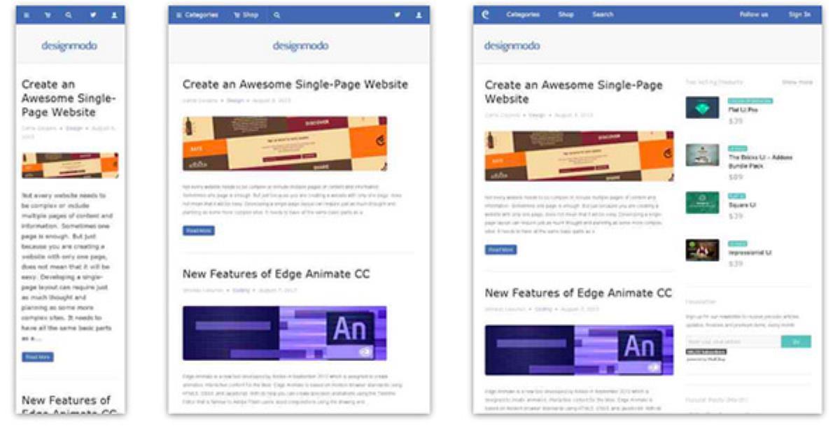 طراحی سایت ریسپانسیو : 50 نمونه و بهترین راهکارها