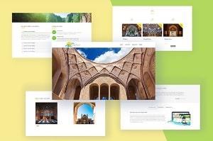وبسایت گردشگری کاشان تور