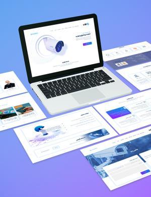 وبسایت شرکت فرادید